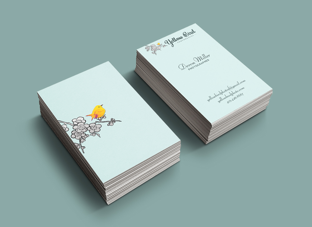 Yellow Bird Business Cards